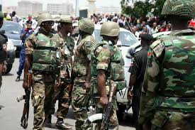 Military Task Force bans use of tricycle in Jos at night