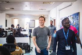 Nigerian Tech Entrepreneurs Make History with Facebook Founder