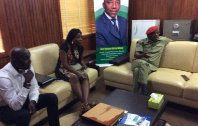 Siasia, Wife Pay Thank You Visit to Dalung