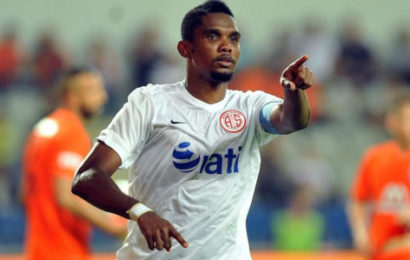 Turkish Club Suspends Eto'o for Racist Comments