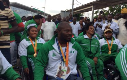Team Nigeria Paralympians Return to Heroic Welcome
