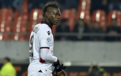 Balotelli Sent Out for 'insulting' Referee