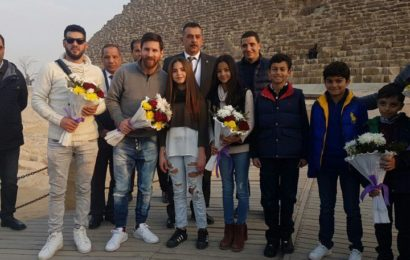Messi Jets to Egypt for Campaign on Hepatitis C Treatment