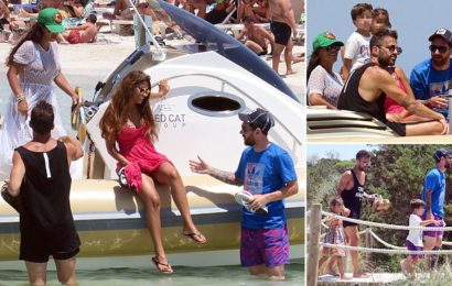 PHOTOS of How Messi, Fabrigas are Spending Their Holiday Together