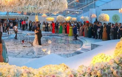 PHOTO NEWS OF THE MOST Lavish WEDDING EVER… ENJOY!