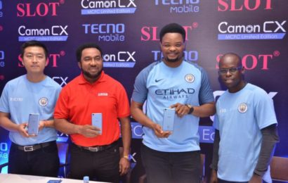 Tecno Manufactures Camon CX Manchester City Smartphones for Just 200 Nigerians