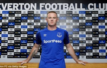 FANS MOCK AS ROONEY COMPLETE EVERTON MOVE