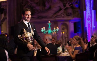 How Roger Federer Spent the Night He Won His 19th Grand Slam Title