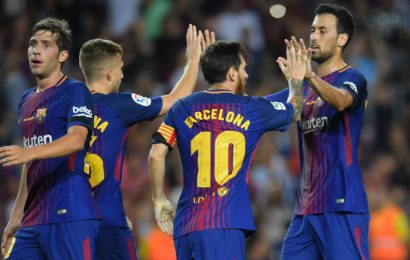 Barcelona Start with Victory on Emotional Night