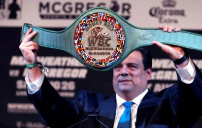 The 'Rediculous Money Belt' Mayweather,McGregor Will Be Fighting For