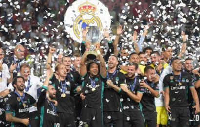 Real Madrid Wins 4th EUFA Super Cup Title