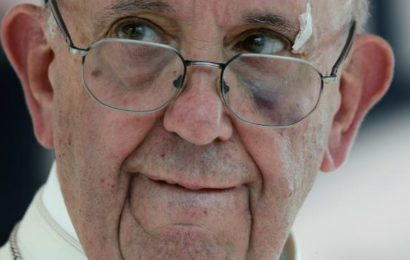 Video: How Pope Francis Shed Blood on Sunday Procession