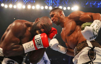 Anthony Joshua's Nose 'Not Broken', says Doctor