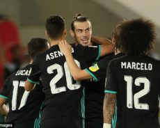 Real Madrid in World Club Cup Final, Beat Al Jazira 2-1