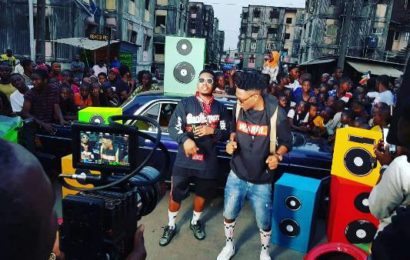 BBNaija Winner Efe, Olamide Shoot Musical Video 'Warri'