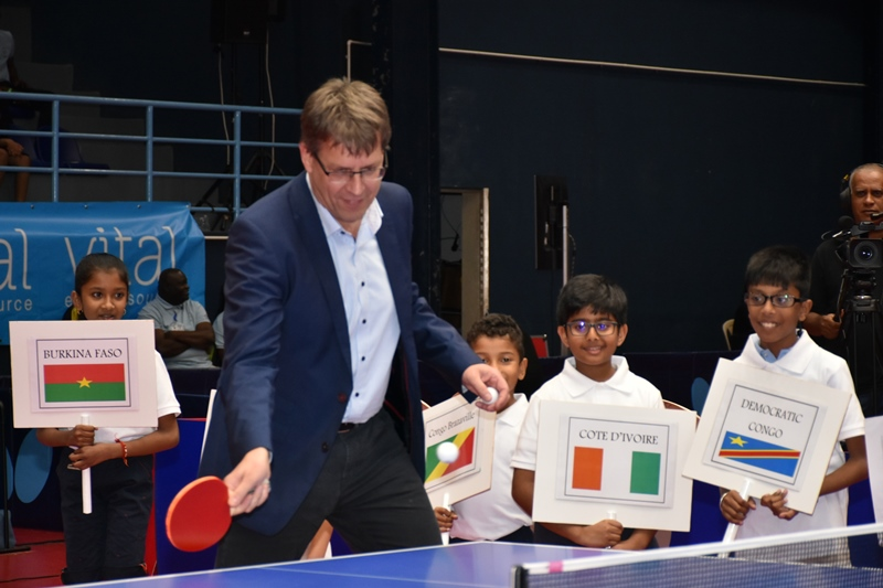 Ittf pledges to increase support for nigeria others - International table tennis federation ittf ...